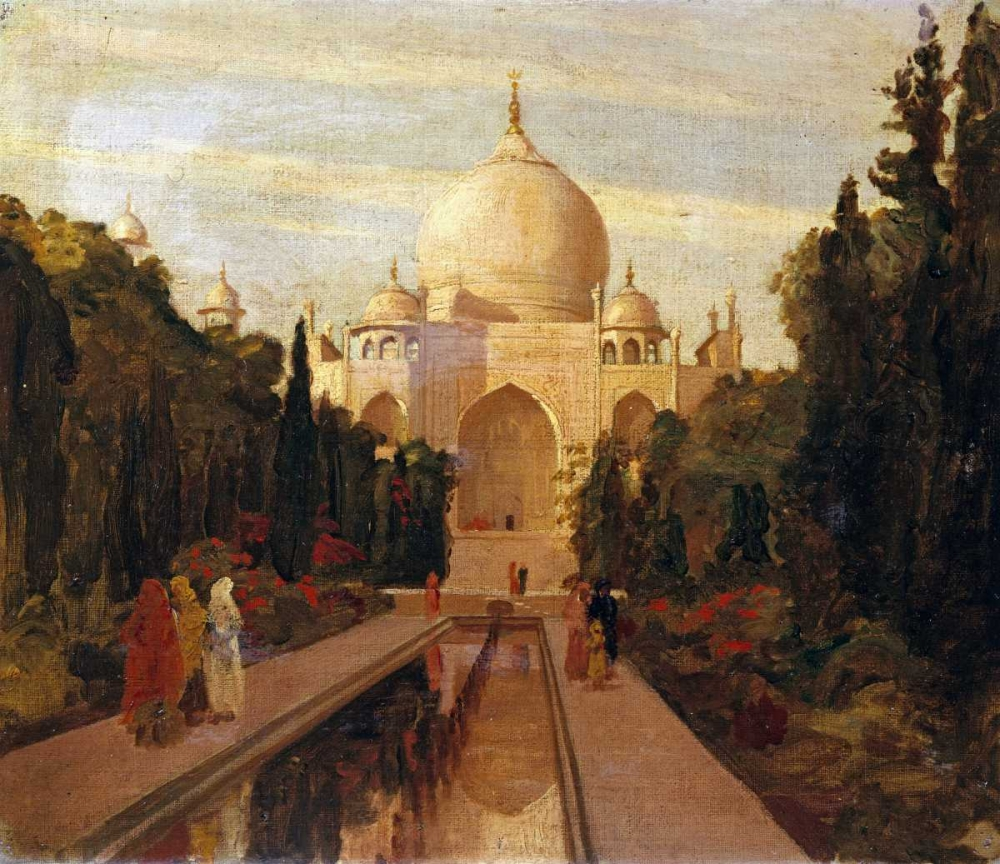 The Taj Mahal Prinsep, Valentine Cameron 89898