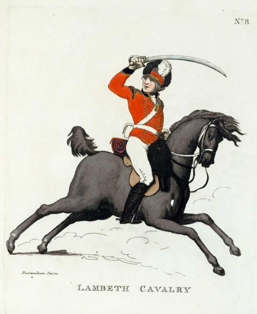 Lambeth Cavalry Rowlandson, Thomas 89974