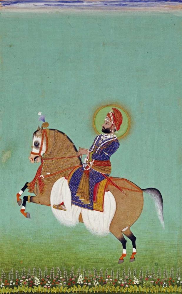 Equestrian Portrait of Maharana Sarup Singh Shiva 90005