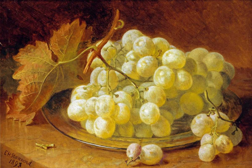 Grapes On a Silver Plate Stannard, Eloise Harriet 90025