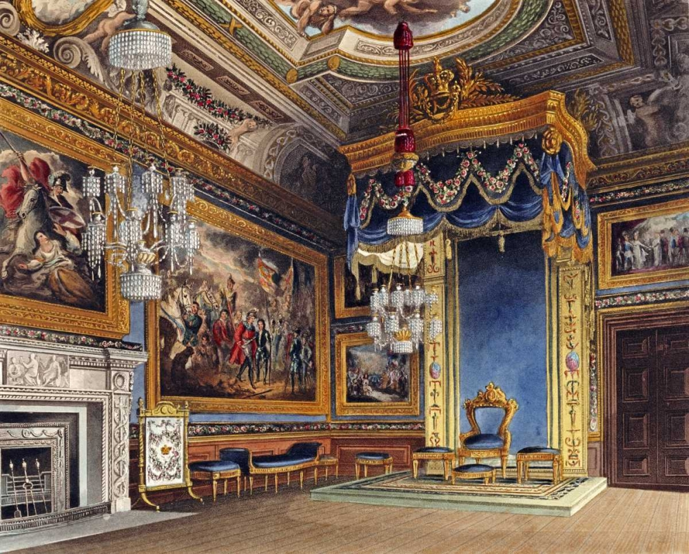 The Kings Audience Chamber, Windsor Castle Sutherland, T. 90040