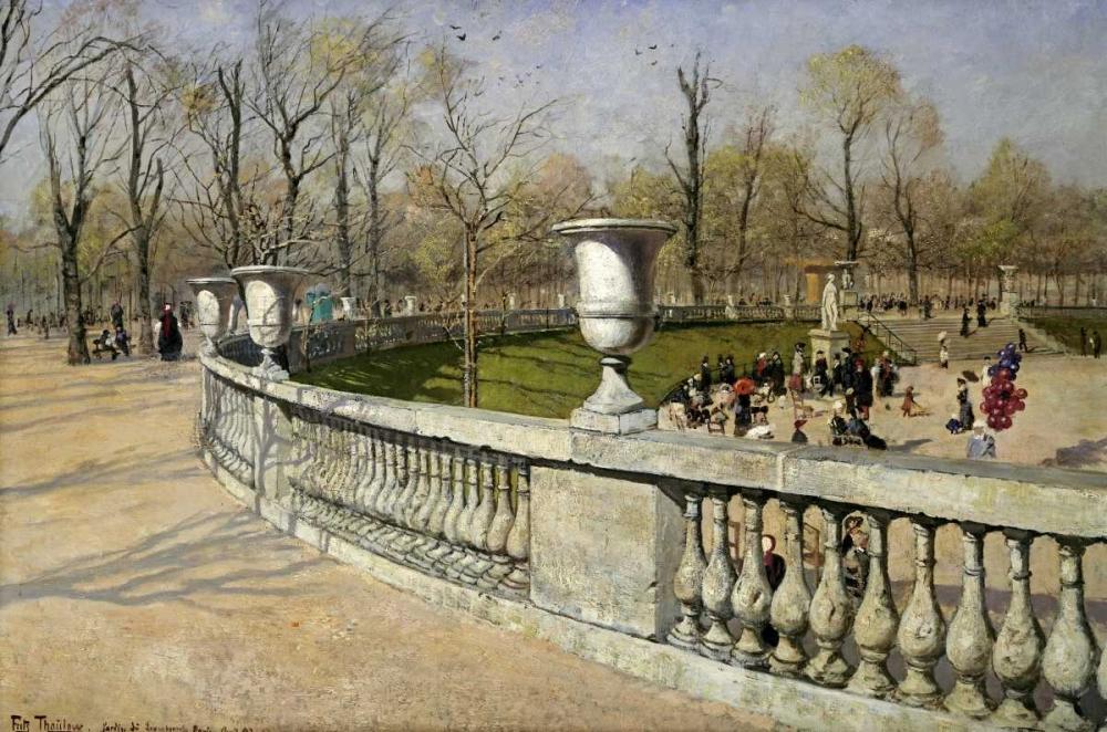 Jardin Du Luxembourg Thaulow, Fritz 90048
