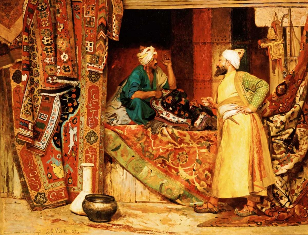 Carpet Seller Vibert, Jean Georges 90111