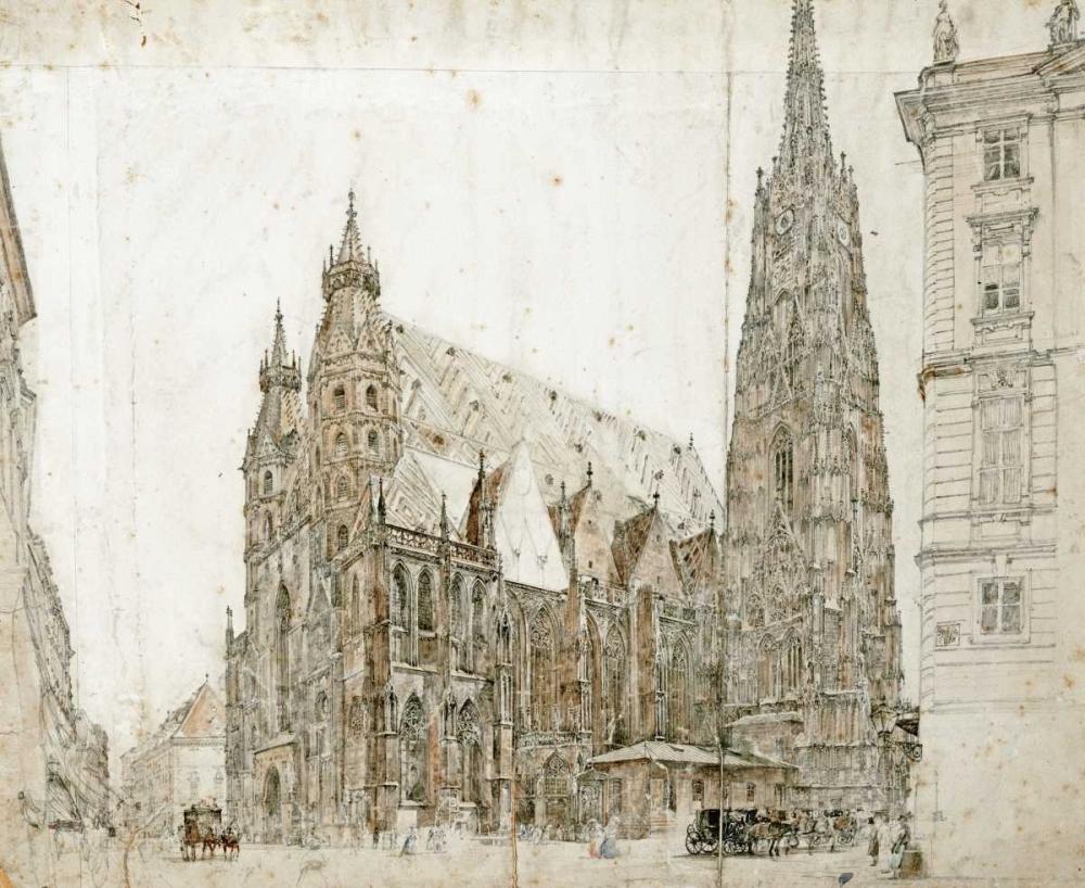 St Stephens Cathedral, Vienna Von Alt, Rudolf 90114