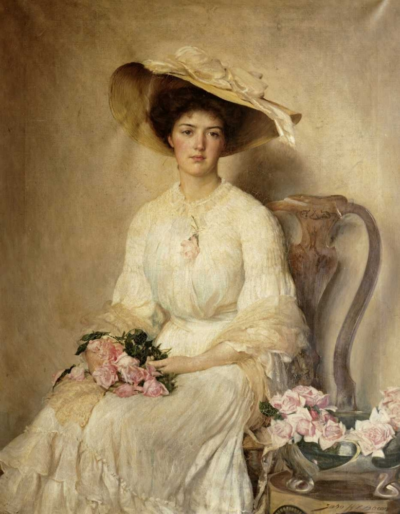 Portrait of a Lady Bacon, John Henry Frederick 90169