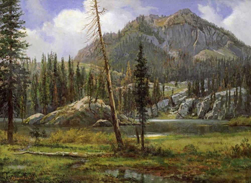 Sierra Nevada Mountains Bierstadt, Albert 90196