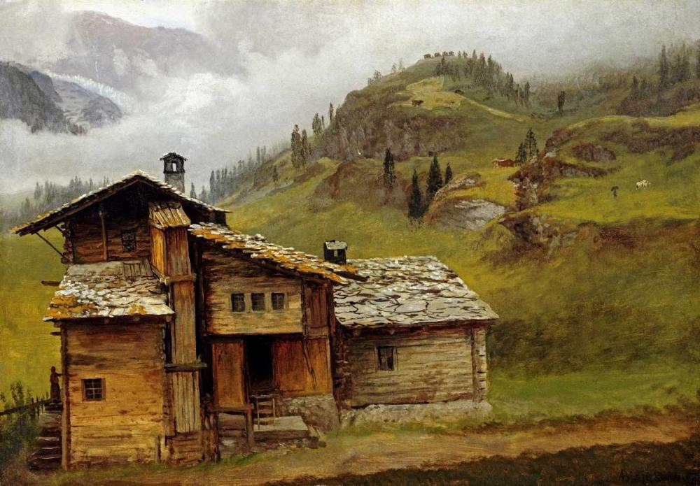 Mountain House Bierstadt, Albert 90210