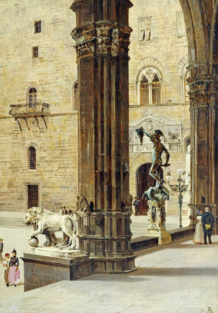 La Loggia Dei Lanzi, Florence Brandeis, Antonietta 90236