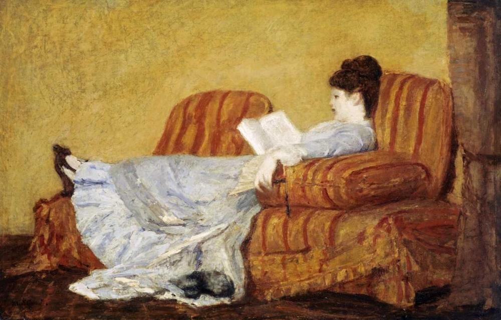 Young Lady Reading Cassatt, Mary 90275