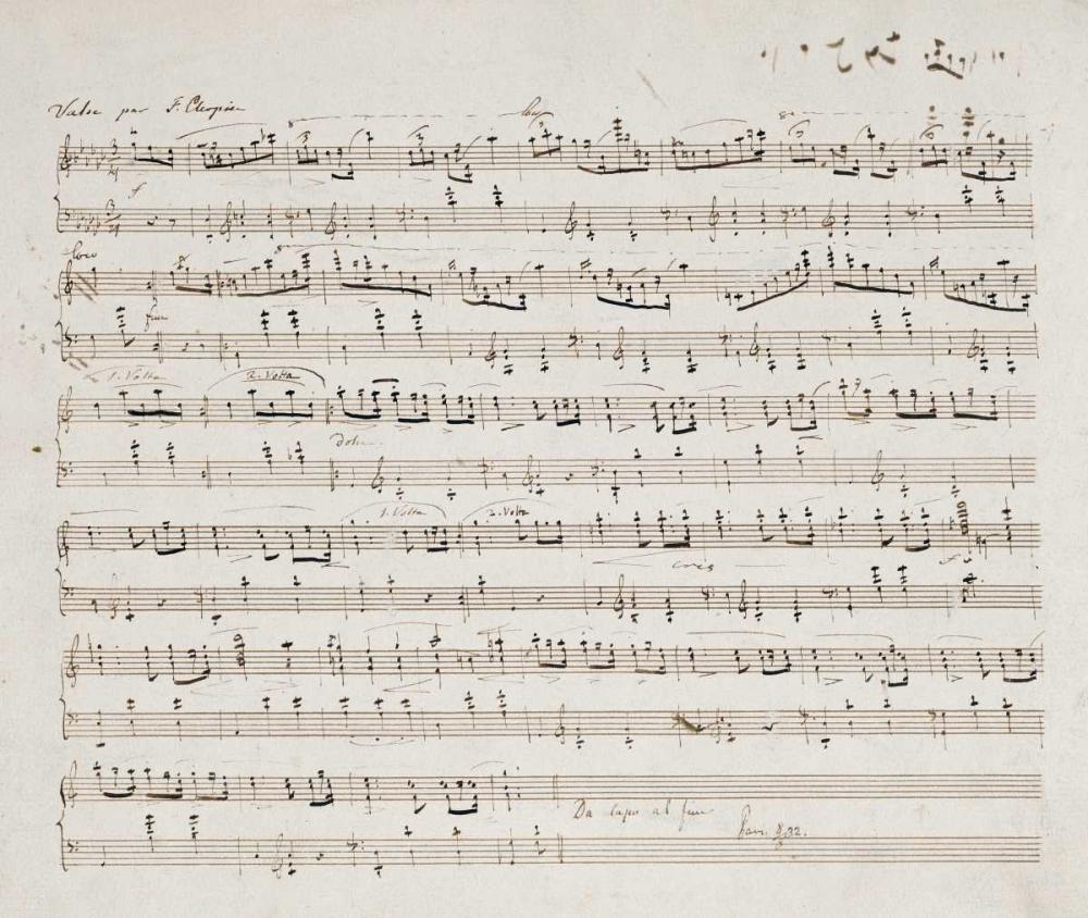 Valse Opus 70 No.1 In G Flat Major Chopin, Fryderyk 90284