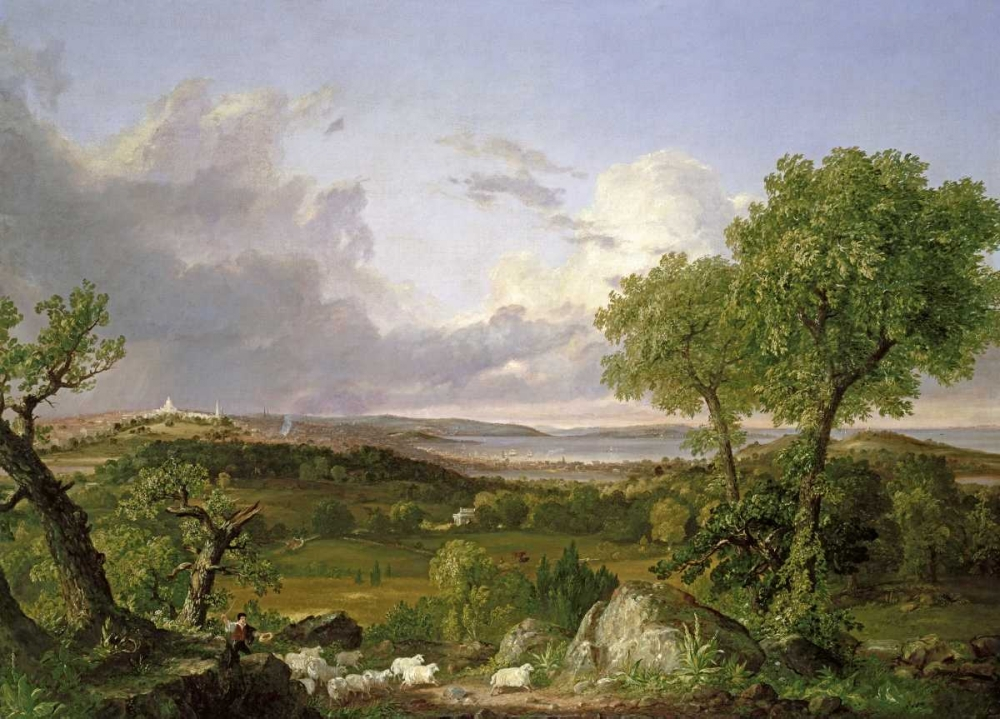 View of Boston Cole, Thomas 90288