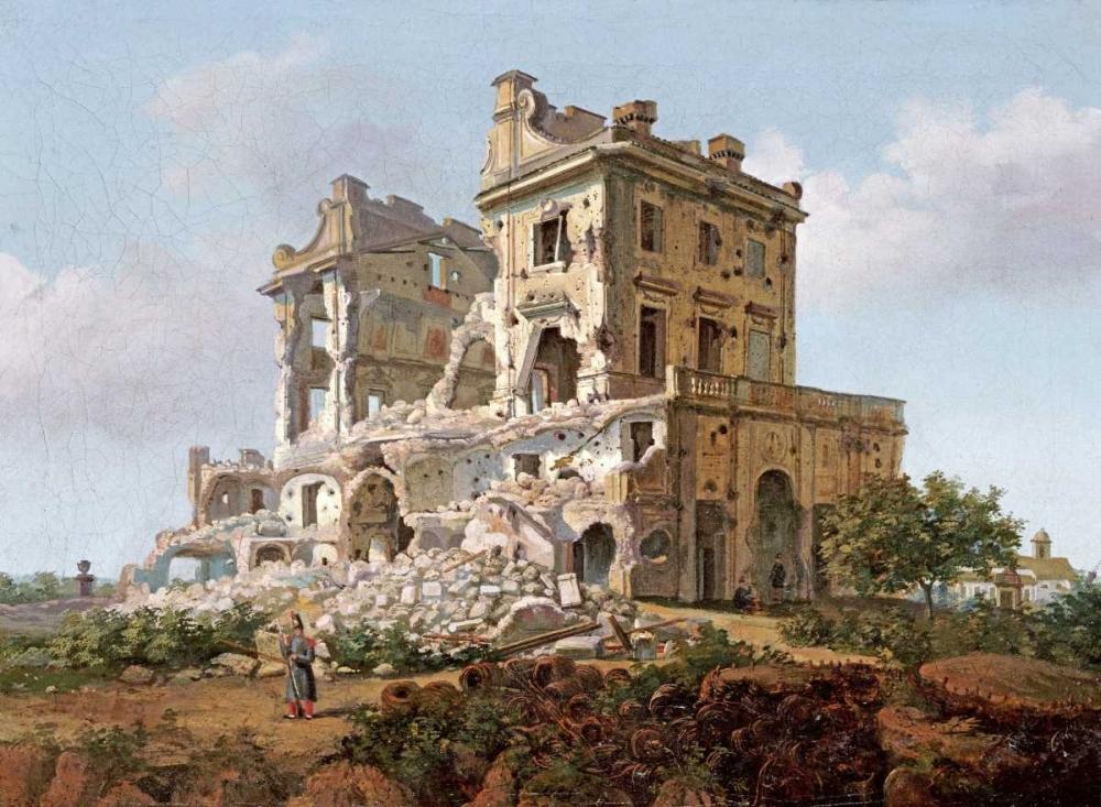Villa Del Vascello, Al Gianicolo, Roma French School 90348