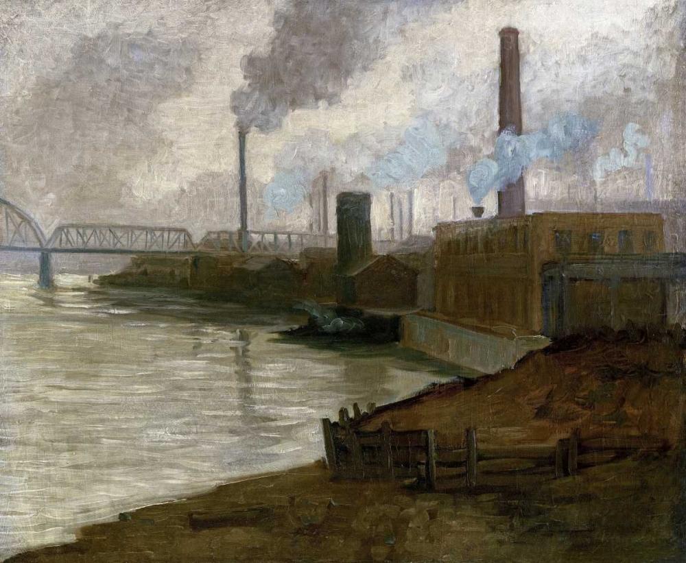 Industrial Scene - Mills on The Monongahela Gorson, Aaron Henry 90361