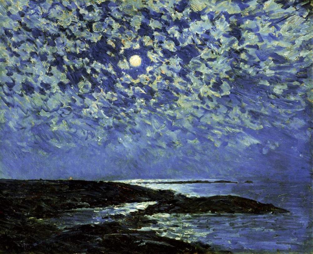 Moonlight, Isle of Shoals Hassam, Childe 90376