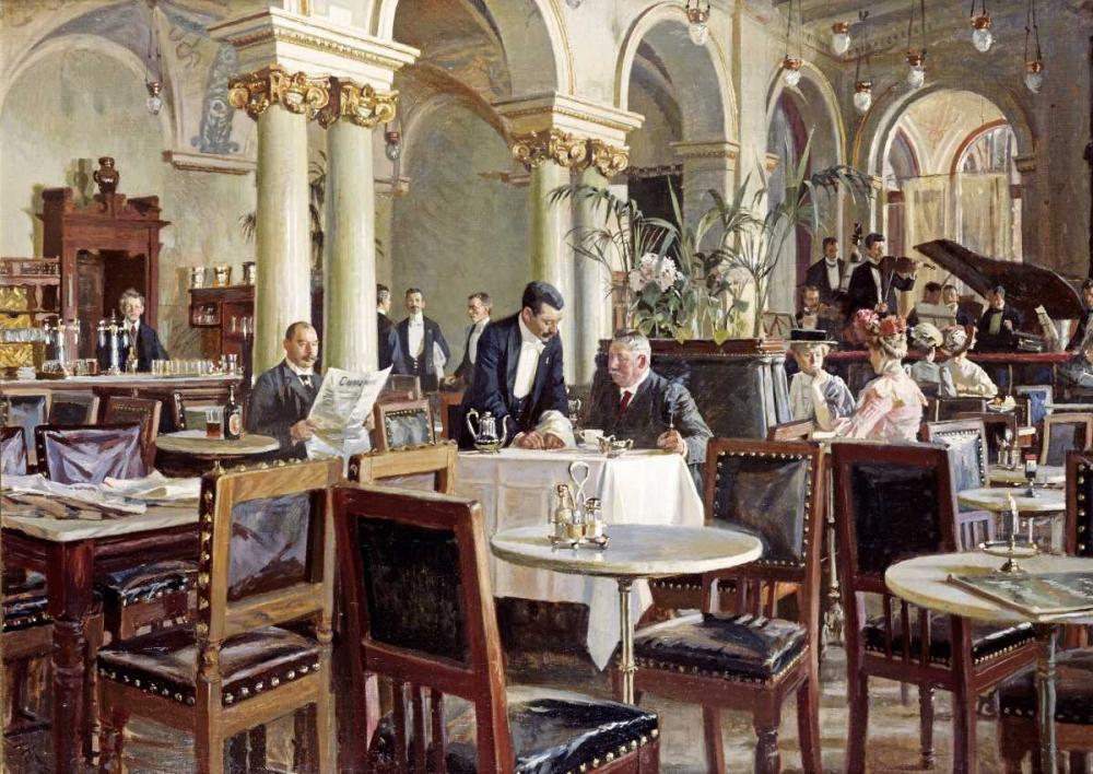 Cafe In Copenhagen Henningsen, Frants 90388