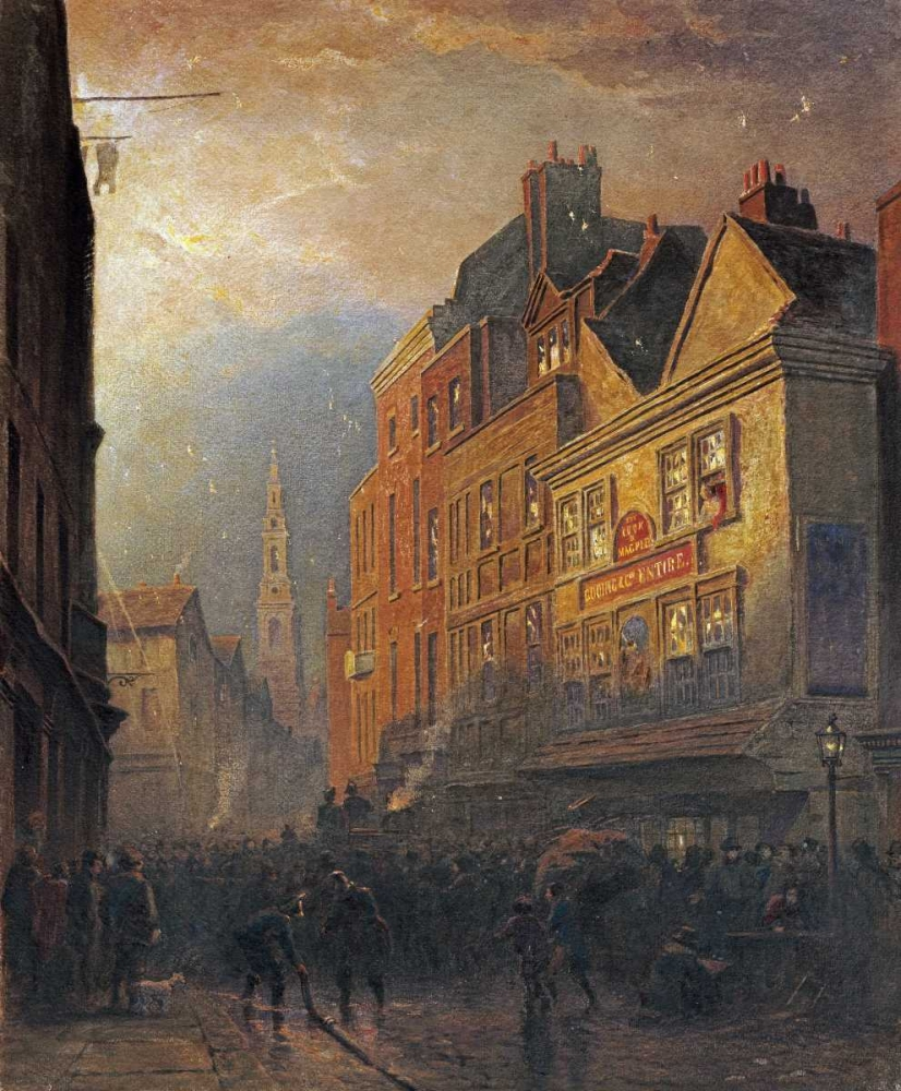 A Fire In Drury Lane Hine, Henry George 90402