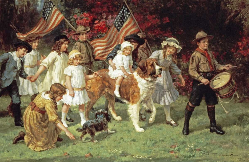 American Parade Knowles, George Sheridan 90445