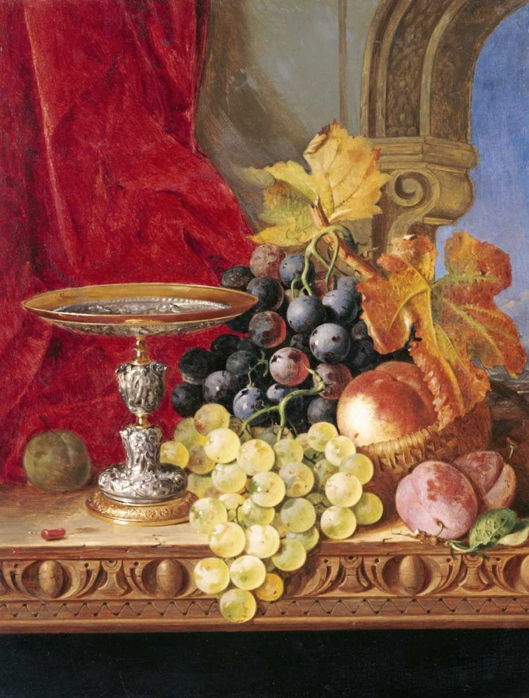 Grapes and a Peach Ladell, Edward 90449