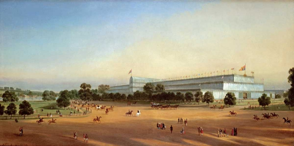 Crystal Palace During The Great Exhibition of 1851 Le Bihan, P. 90459