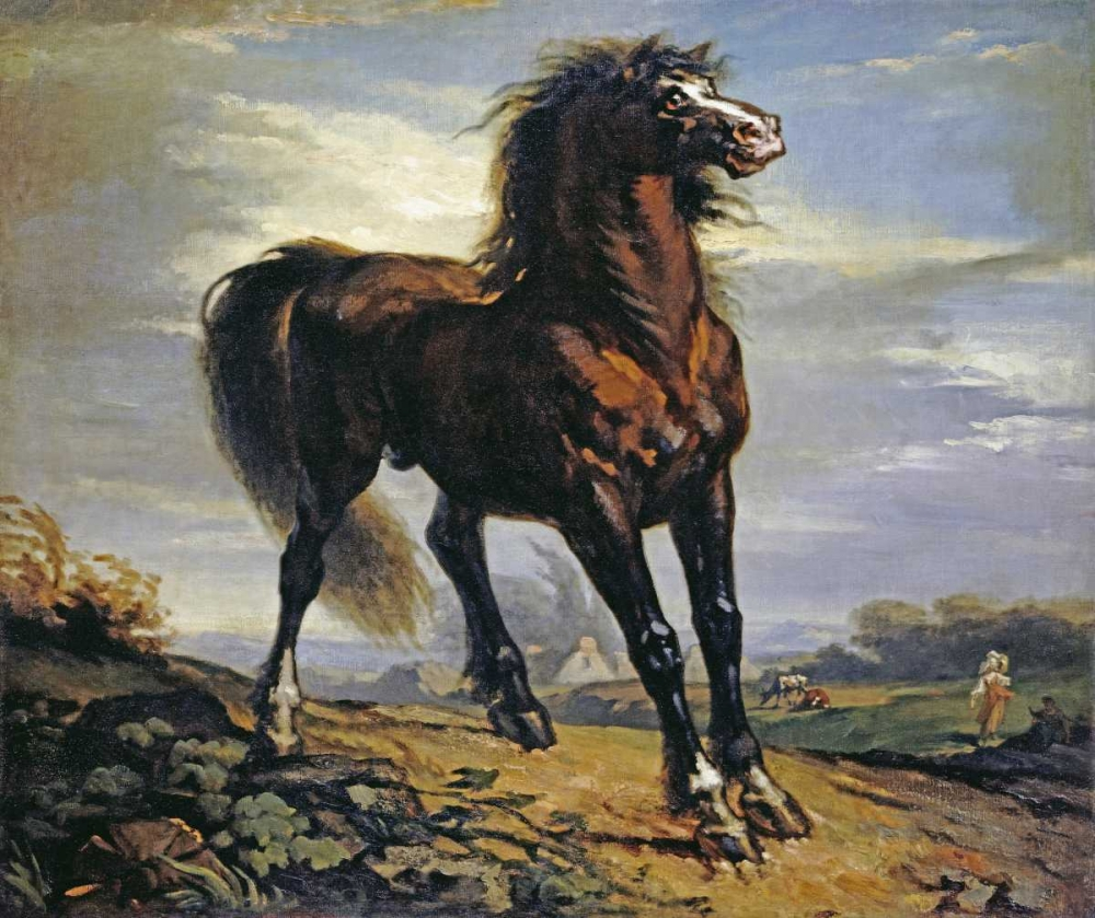 The Horse Millet, Jean-Francois 90494