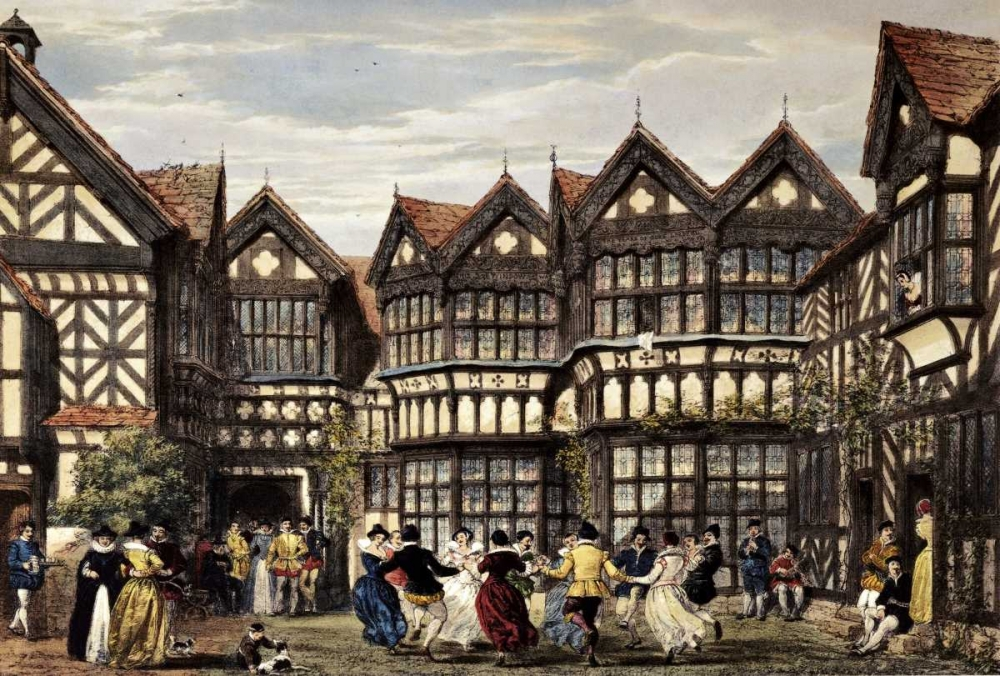 Little Moreton Hall, Cheshire Nash, Joseph 90511