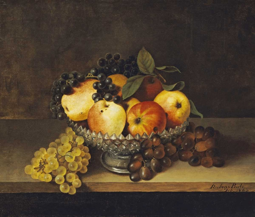 Still Life With Crystal Compote Peale, Rubens 90534