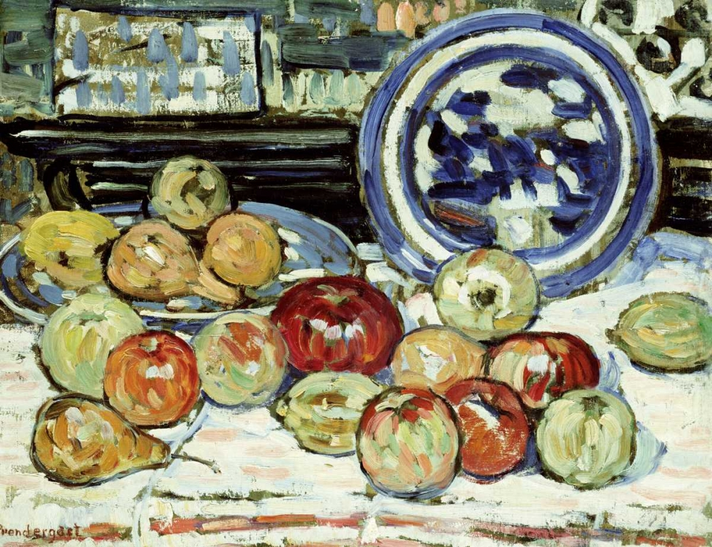 Still Life With Apples Prendergast, Maurice Brazil 90562