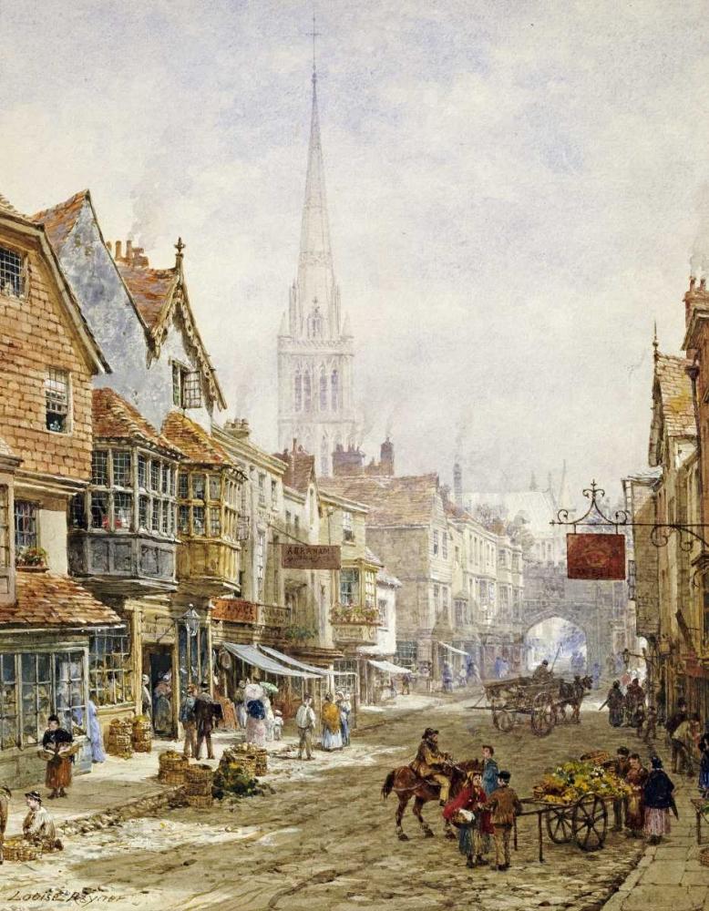 The High Street, Salisbury Rayner, Louise 90572