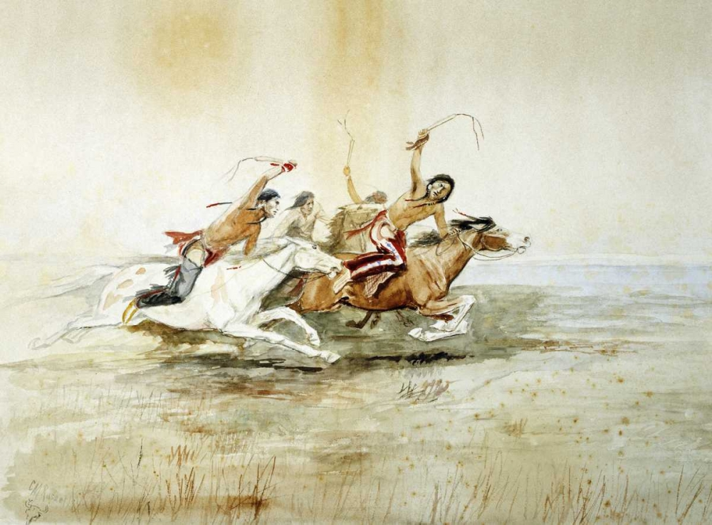 Indian Horse Race No.4 Russell, Charles M. 90593