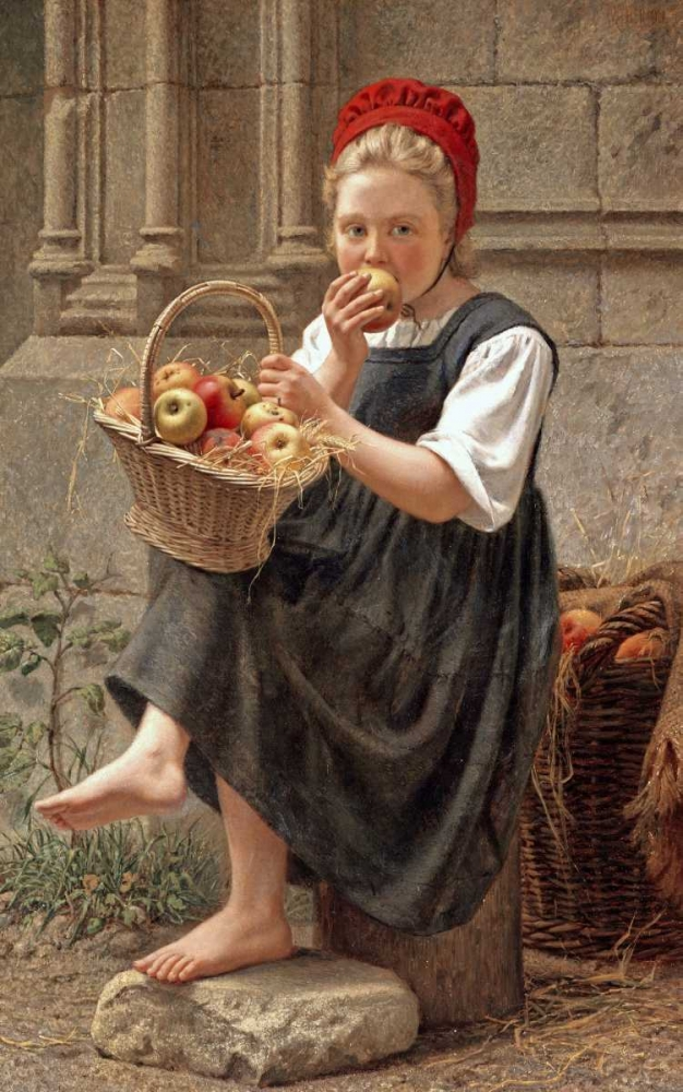 The Apple Girl Thirion, Charles-Victor 90631