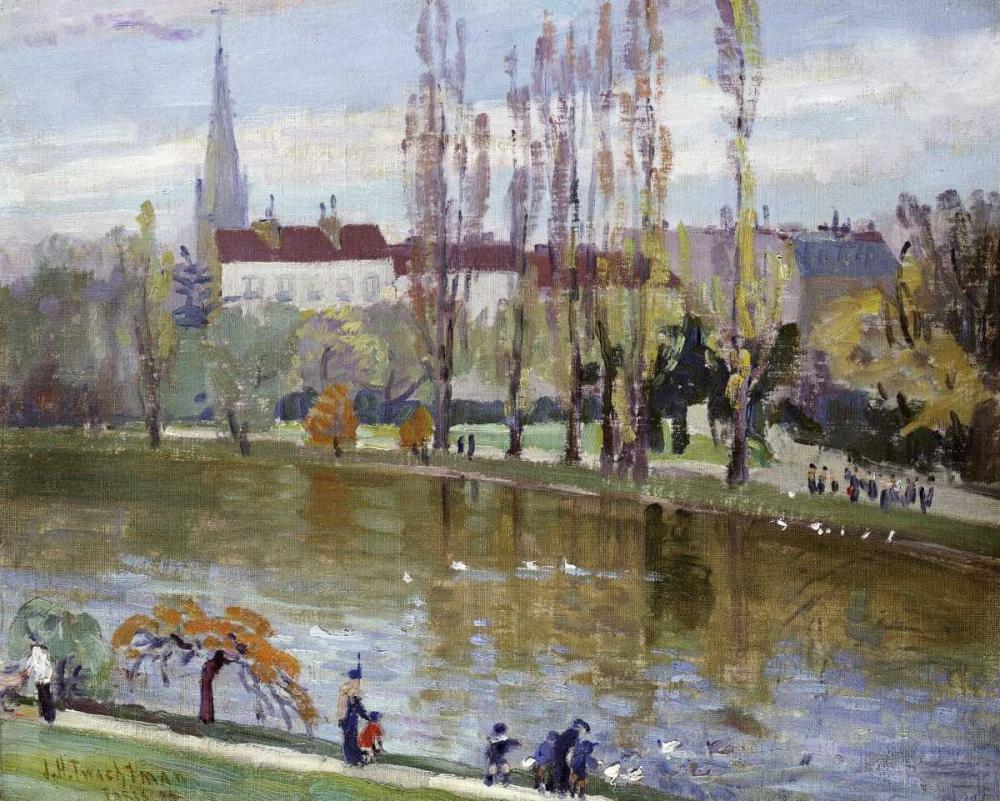Parc Montsouris, Paris Twachtman, John Henry 90639