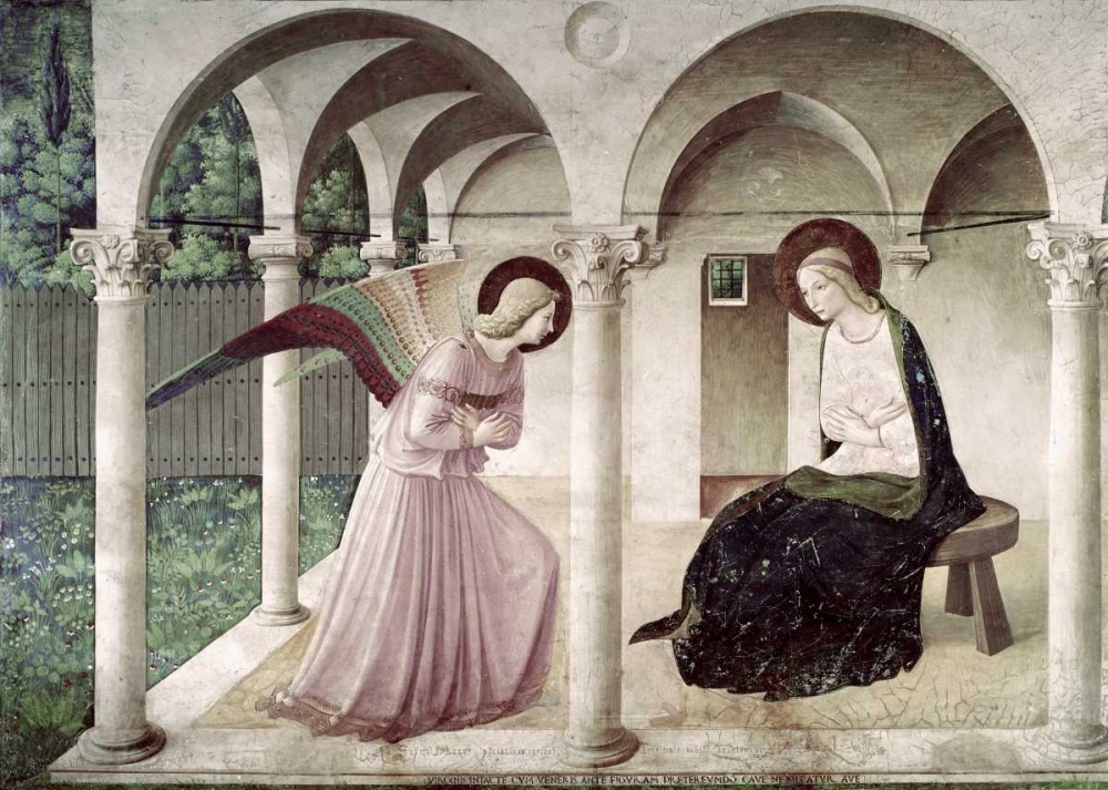 Annunciation Angelico, Fra 90698