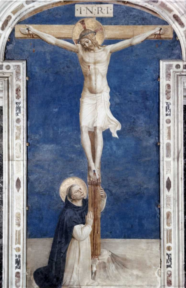 Crucifixcion With Saint Dominick Angelico, Fra 90699