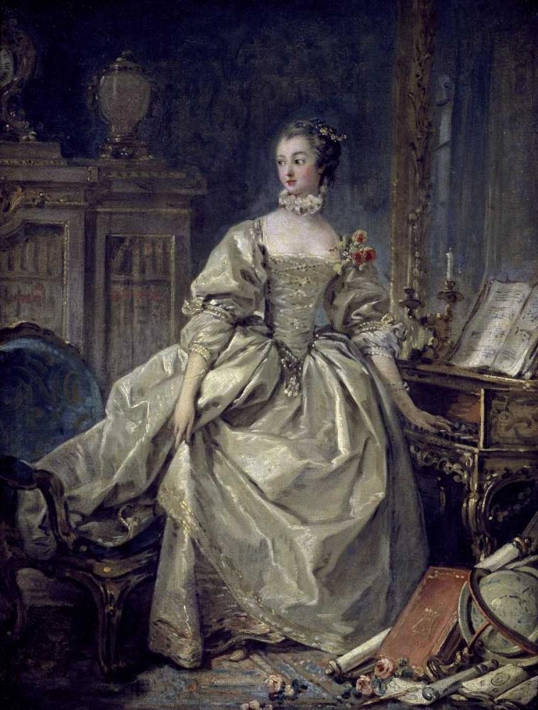 La Madame De Pompadour Boucher, Francois 90770