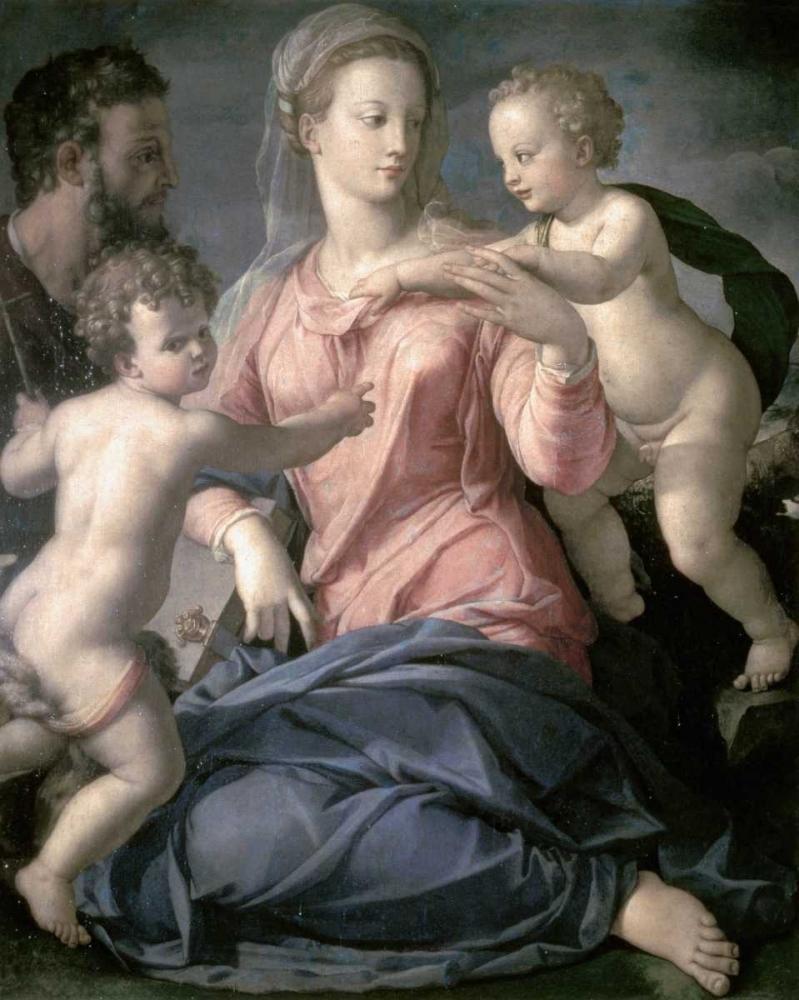 Holy Family Bronzino, Agnolo 90779