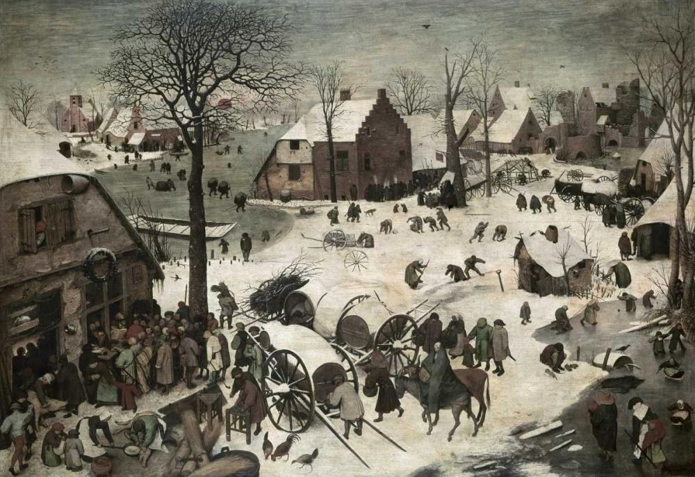 Census at Bethlehem Bruegel, Pieter the Elder 90786