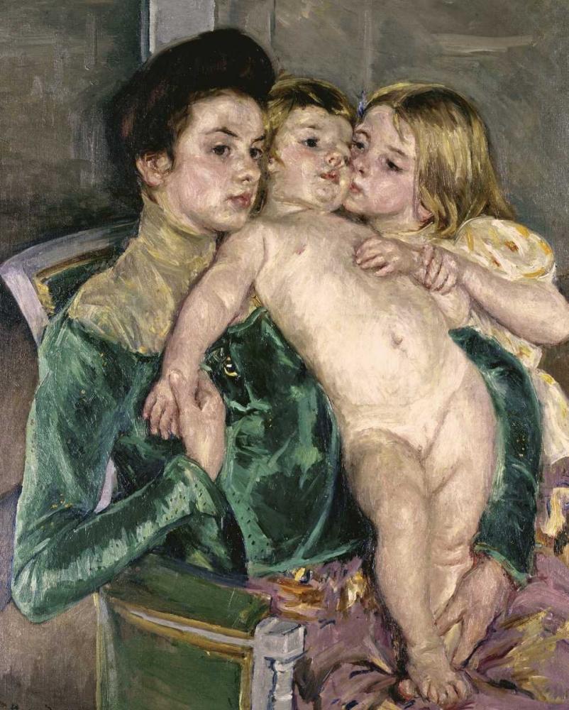 Childs Caress Cassatt, Mary 90813