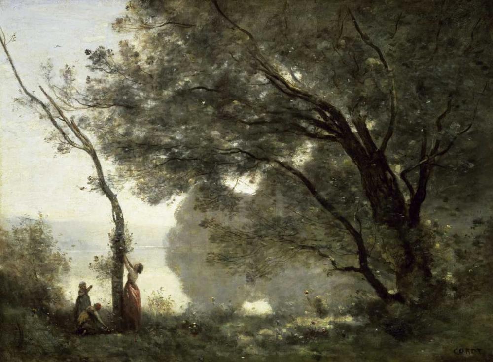 Souvenir of Mortefontaine Corot, Jean-Baptiste-Camille 90854