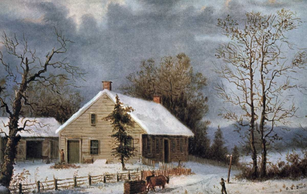Winter Wood Currier and Ives 90904
