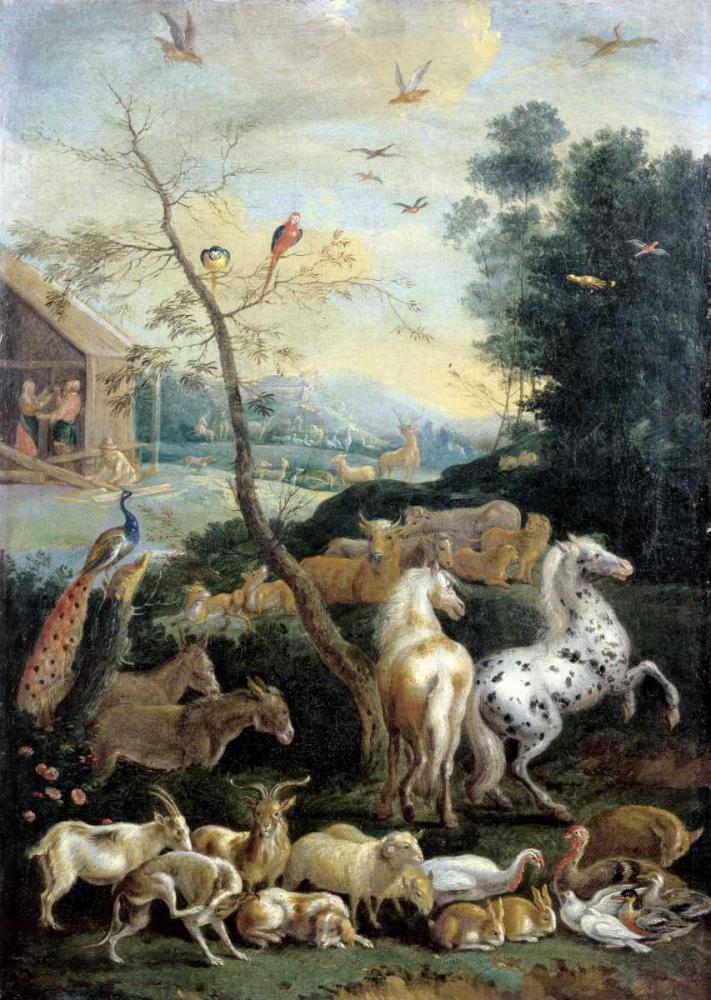 Animals Assembling before the Flood De Hondt, Lambert 90938
