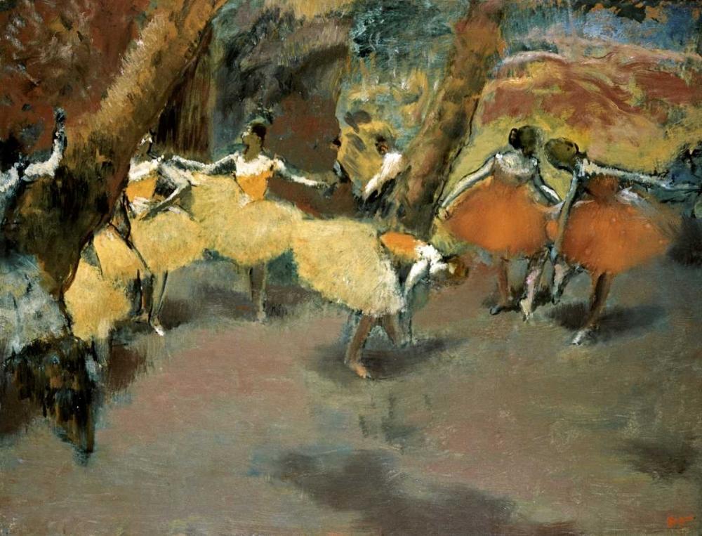 Before the Performance Degas, Edgar 90943