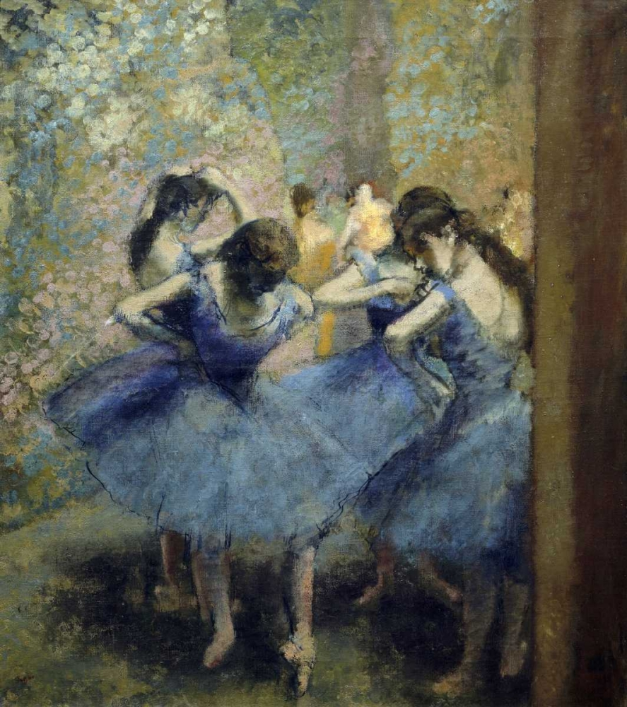 Blue Dancers Degas, Edgar 90944