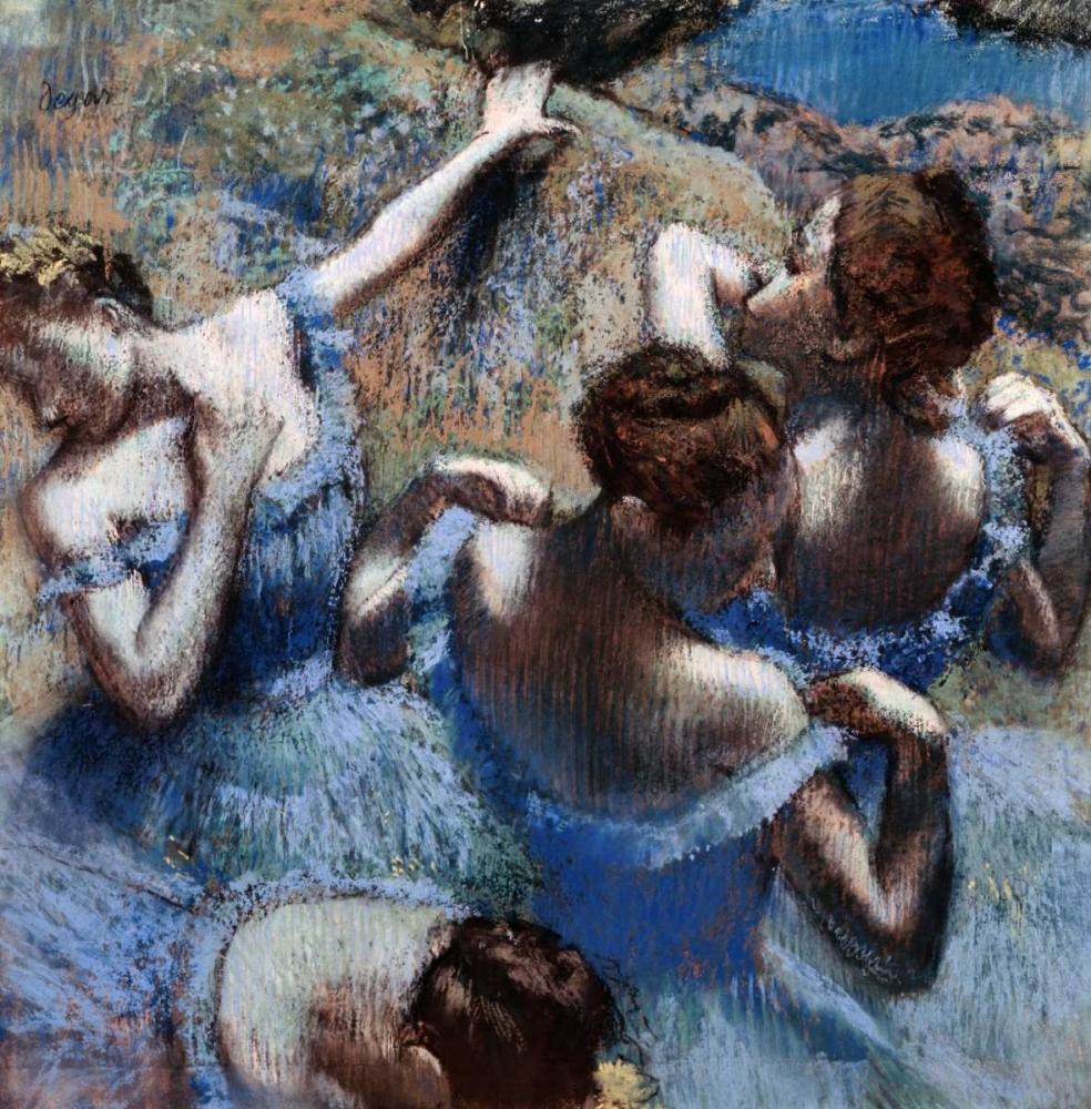 Blue Dancers - Les Danseuses Bleues Degas, Edgar 90945