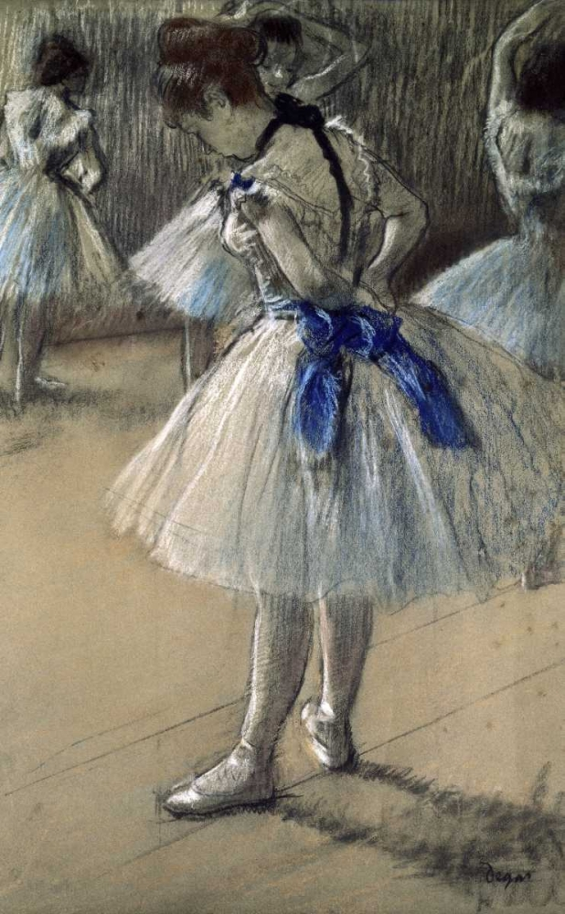 Danseuse, Dancer, Pastel/Char/Chalk Degas, Edgar 90952