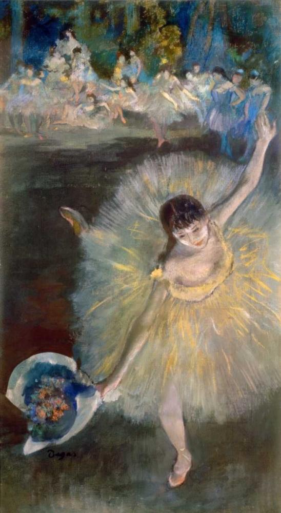 End of the Arabesque, c. 1877 Degas, Edgar 90954