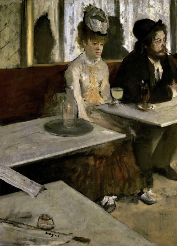 In a Cafe - Absinthe Degas, Edgar 90955