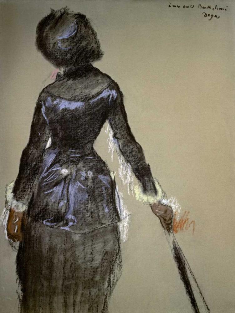Mary Cassatt at the Louvre Degas, Edgar 90958