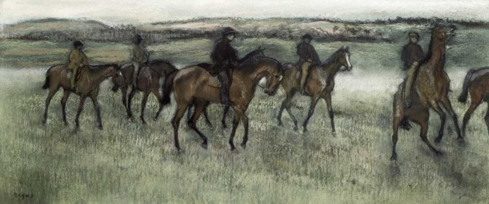 Race Horses Degas, Edgar 90960
