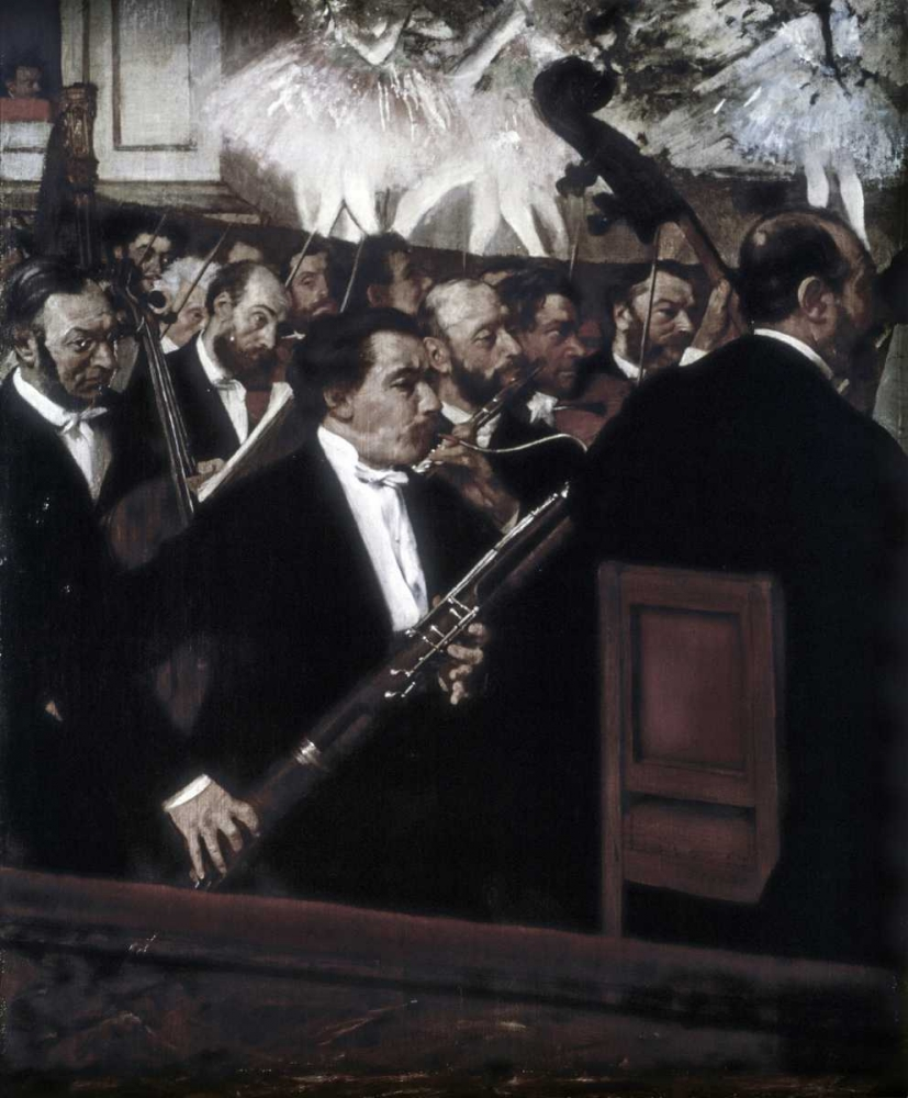 The Orchestra of the Opera Degas, Edgar 90966