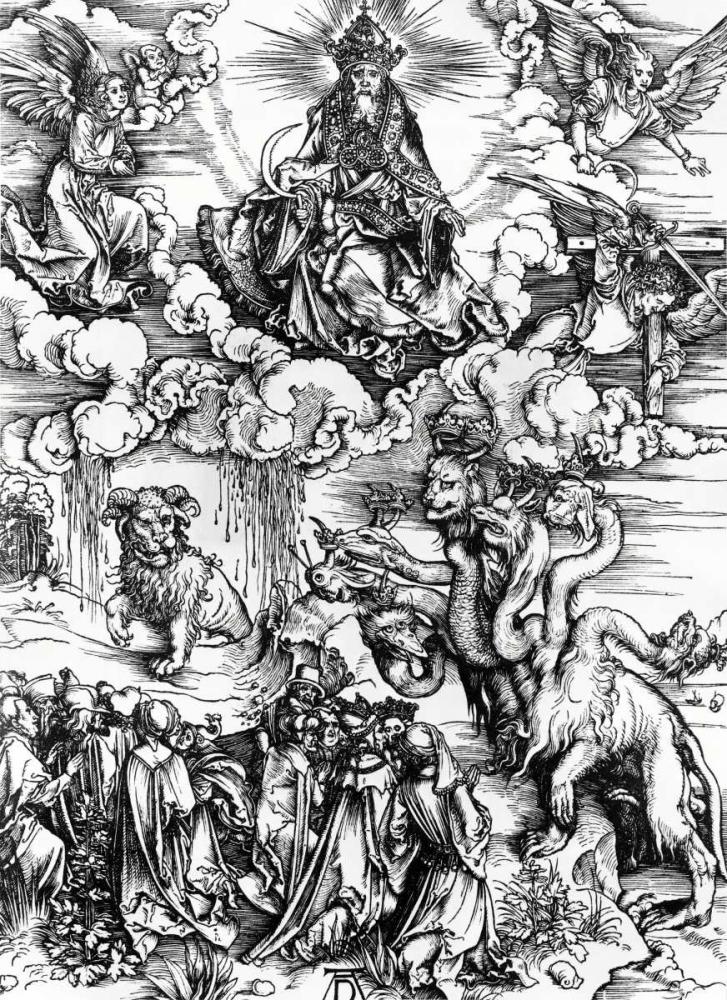 The Whore of Babylon Durer, Albrecht 90992